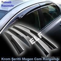Z tech Nissan Qashqai Mugen Cam Rüzgarlığı (Krom Şeritli)