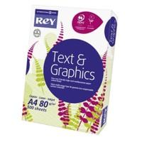 Rey Text&Graphics (A4 100 Gr. 500'lü) Fotokopi Kağıdı