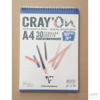 Clairefontaine Resim Defteri Cray'on A4 160Gr 30 Yaprak 966818