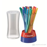 Stabilo Pen 68 Twister 19'lu Kutu Keçe Uçlu Kalem