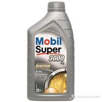 Mobil Süper 3000 X1 5W-40 1lt Benzinli Dizel LPG Motor Yağı ( Üretim Yılı : 2017)
