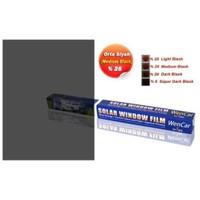 Çizilmez Cam Filmi M.Black %25 (Orta Koyu) 50 cm x 6 MT 1004671