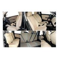 Z tech Toyota Auris Krem (Bej) renk Araca özel Oto Koltuk Kılıfı