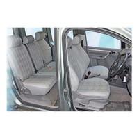 Z tech Volkswagen Caddy 2003 ve sonrası gri renk Araca özel Oto Koltuk Kılıfı