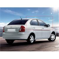 Hyundai Accent Era Krom Cam Çıtası Takımı