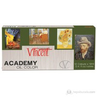 Vincent Yağlı Boya Set 12ml.x12