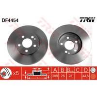 Trw Df4454 Ön Fren Aynası Havalı A Serısı (W169) A200 Cdı 04=> B Serısı (W245) B180 Cdı-B200-B200 Cdı-B200 Turb