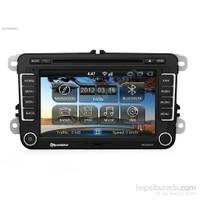 Roadstar RD-9300VW Android İnternetli Navigasyon Bluetooth Multimedya Golf,Passat,Jetta,Polo,Amarok
