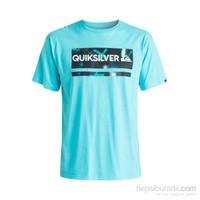 Quiksilver T-Shirt Classteechecmysp M Tees Ydq0 Eqyzt03642-Bgz0