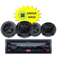 Sony DFB-1613 USBli Oto Teyp ve Hoparlörlü Mega Bass Performans Seti