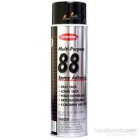 Sprayway 88 Güçlü Hızlı Şeffaf Yapıştırıcı Sprey 424895