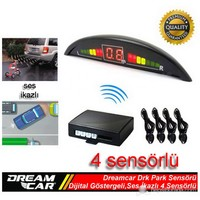 Dreamcar Drk Park Sensörü Dijital Ekranlı,Ses İkazlı,4 Sensörlü 65220