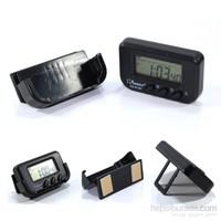 Bymoto Kronometreli Mini Dijital Saat Tarih Göstergesi 9009467