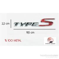 ModaCar TYPE-S Metal Yazı 102266
