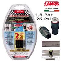 Lampa 1,8 Bar (26 Psi) Lastik Basınç Göstergeli Sibop Kapağı 02472