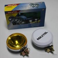 Maxtel 117mm Yuvarlak Sarı Lens Sis Farı Tk. JF506CY