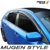 Dreamcar Point Mitsubishi L200 2007-2013 İçin Cam Rüzgarlığı 4'lü