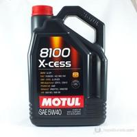 Motul 8100 X-cess 5W40 Ultra Performance Motor Yağı 5 LT ( Üretim Tarihi:2020 )