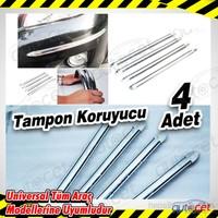 AutoCet 4 lü Fosforlu Krom Tampon Koruyucu 3421a