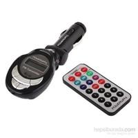 AutoCet Kumandalı SD Card / USB Girişli FM Transmitter