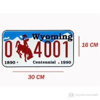 ModaCar WYOMING İmitasyon Amerikan Plaka 331186W