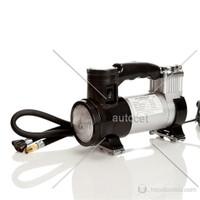 AutoCet 2 in 1 Işıklı Çelik Gövde Hava Kompresörü -3285a
