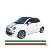 Sticker Masters Fiat 500 Ön Kaput İtalyan Şerit