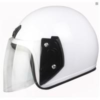 Dahice Europe Design Yazlık Açık Beyaz Kask
