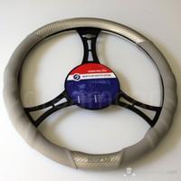 Sparco Sport Direksiyon Kılıfı Karbon+Gümüş Spc1101