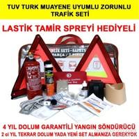 Full Trafik Seti Tuv Turk Uyumulu Yangın Söndürücülü 4 Yıl Dolum Gerektirmez