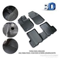 Audi A3 2013 Sonrası 3D Kauçuk Paspas Siyah