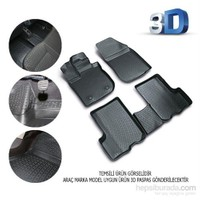Nissan Micra 2002 Sonrası 3D Kauçuk Paspas Siyah