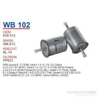 Wunder OPEL ASTRA - CORSA - VECTRA ( TIRNAKSIZ ) Benzin Filtresi OEM NO: 818513