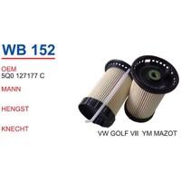 Wunder Vw Golf 7 Kasa Mazot Filtresi Oem No:5Q0127177c