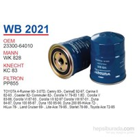Wunder TOYOTA HiLUX 2.4 D Mazot Filtresi OEM NO:23300-64010
