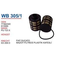 Wunder Fıat Ducato Plastik Kafesli Mazot Filtresi Oem No:77362340