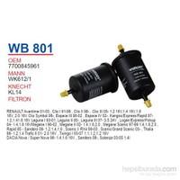 Wunder RENAULT CLiO - MEGANE (SiYAH) Benzin Filtresi OEM NO: 7700845961