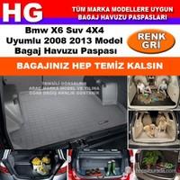 Bmw X6 2008 2013 Gri Bagaj Havuzu Paspası 38641