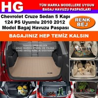 Chevrolet Cruze Sedan 124Ps 2010 2012 Bej Bagaj Havuzu Paspası 38659