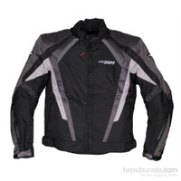 Tamino Kışlık Korumalı Motosiklet Montu Gri-Siyah