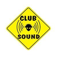 Sticker Masters Club Sound Sticker