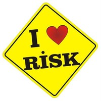 Sticker Masters I Love Risk Sticker