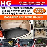 Fiat Fiorino Combimix 2008 2013 Siyah Bagaj Havuzu Paspası 38749