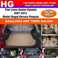 Fiat Linea 2007 2013 Bej Bagaj Havuzu Paspası 38756