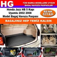 Honda Jazz 2002 2008 Siyah Bagaj Havuzu Paspası 38811