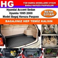 Hyundai Accent 1995 2000 Siyah Bagaj Havuzu Paspası 38833