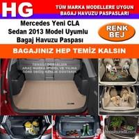 Mercedes Cla 2013 Bej Bagaj Havuzu Paspası 38923