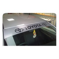 Sticker Masters Toyota Güneşlik Sticker