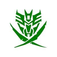Sticker Masters Transformers Yeşil Sticker