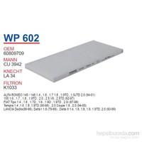 Wunder FIAT TEMPRA 1.4ie-1.6ie-TiPO 1.4ie-1.6i-COUPE Polen Filtresi OEM NO: 60809709